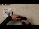 EL SOLDADO TV.  Обзор страйкбольного пистолета Umarex Makarov